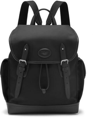 Mulberry Heritage Backpack Black ECONYL regenerated nylon