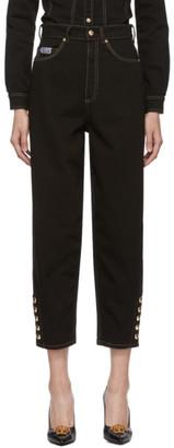Versace Black Mom Jeans