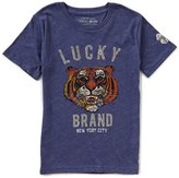 Lucky Brand Big Boys 8-20 Tiger Face Short-Sleeve Graphic Tee