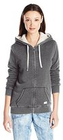 Volcom Women's Lived in Sherpa Zip up Hoodie