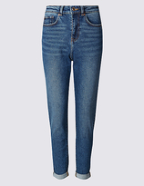 M&S Collection High Waist Slim Leg Jeans