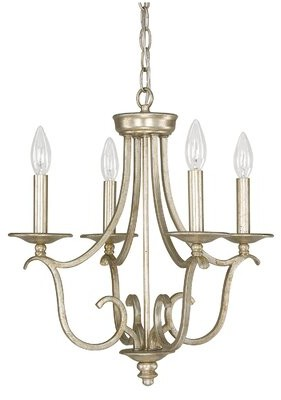 Cecil House of Hampton 4-Light Candle Style Empire Chandelier House of Hampton