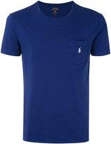 Polo Ralph Lauren embroidered logo T-shirt - men - Cotton - S