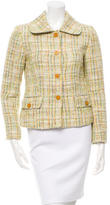 Dolce & Gabbana Tweed Button-Up Jacket w/ Tags