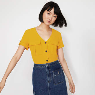 Warehouse UTILITY POCKET FRONT TOP