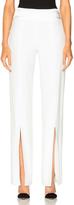 Jonathan Simkhai Stretch Crepe Combo Slit Pant
