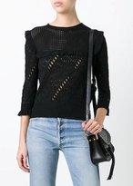 Philosophy Di Lorenzo Serafini 3/4 Sleeve Sweater Black