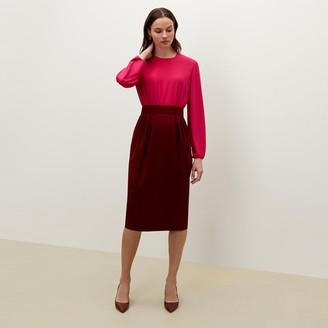 M.M. LaFleur The Teresa SkirtWashable Wool Twill