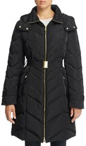 Cole Haan Chevron Quilted Jacket