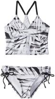 Reef Girls' Desert Palms Longline Bralette Bikini Set (714) - 8153658