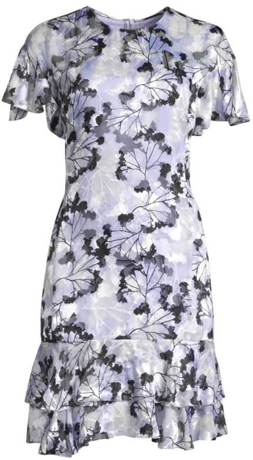 Elie Tahari Yonica Floral Dress