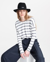 Rag & Bone The knit striped long sleeve