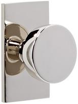 Rejuvenation Tumalo Brass Knob Interior Door Set