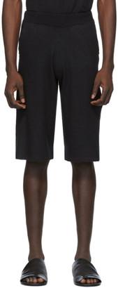 Frenckenberger Black Cashmere Adi Shorts