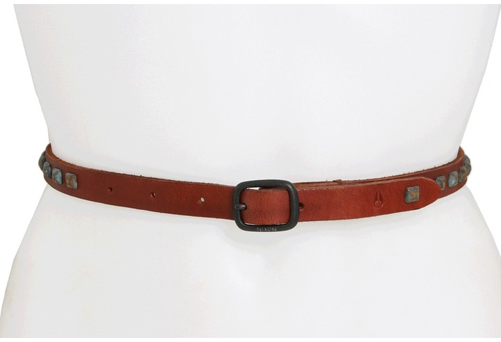 Nixon Riveting Belt (Saddle) - Apparel