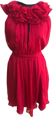 Matthew Williamson Pink Silk Dress for Women