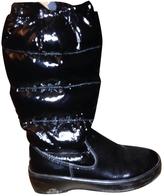Moncler Black Plastic Boots