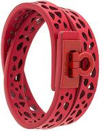 Salvatore Ferragamo laser cut bracelet