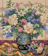 Dimensions Gold Collection Oriental Splendor Counted Cross Stitch Kit-12x14 18 Count