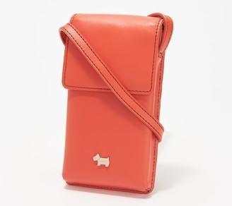 Radley London London Leather Medium Phone Crossbody - College Green