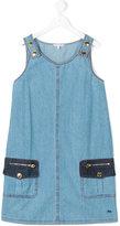 Little Marc Jacobs sleeveless denim dress - kids - Cotton - 14 yrs