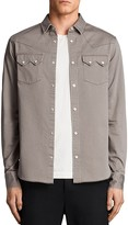 AllSaints Stovepipe Slim Fit Button-Down Shirt