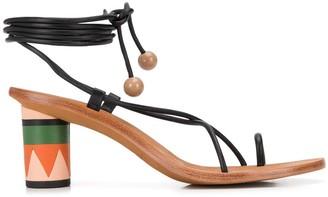 Ulla Johnson Kaya 75mm strappy sandals
