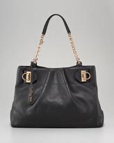 Gancini Chain Tote Bag