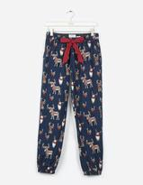 Fat Face Animals With Antlers Cuffed Lounge Pants