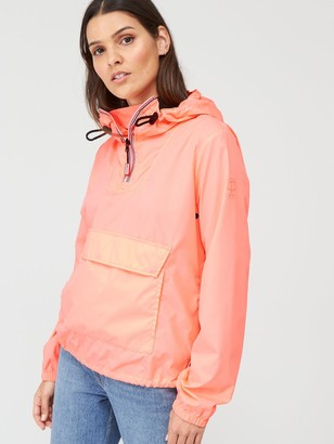 Hunter Women's Original Shell Cagoule - Light Pink