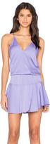 Karina Grimaldi Ollie Solid Mini Dress
