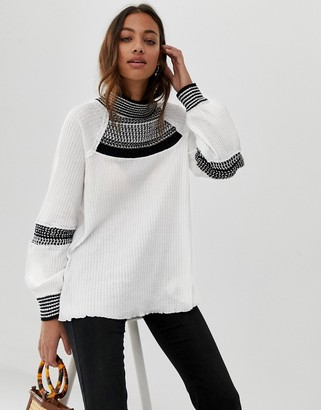 Free People Snow Day knit sweater