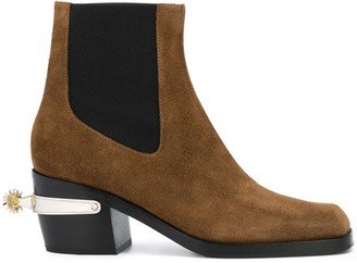 Nodaleto Western Bulla spur ankle boots