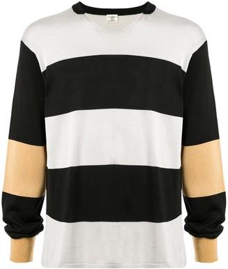 Kent & Curwen stripe pattern sweatshirt