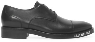 Balenciaga Soft Leather Derby Shoes