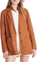 Madewell Linen Dorset Blazer