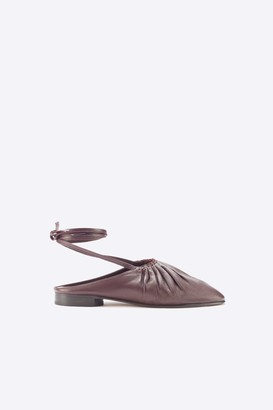 3.1 Phillip Lim Nadia lace-up ballerina shoes