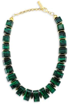 Lafayette 148 New York Resin Statement Collar Necklace