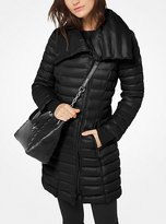Michael Kors Quilted-Nylon Down Coat