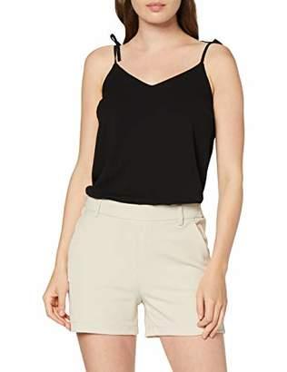 Only Women's Onlcool Shorts, Beige (Peyote), Large