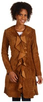 Scully Ladies Leopard Lined Long (Cinnamon) - Apparel