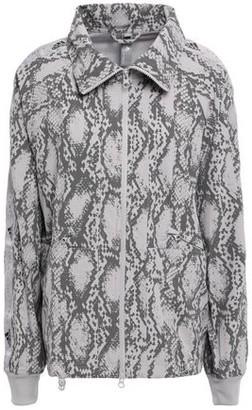 adidas by Stella McCartney Performance Snake-print Climalite Track Jacket