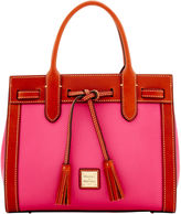 Dooney & Bourke Pebble Grain Ariel Satchel