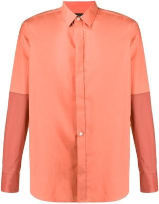 Ann Demeulemeester Two-Tone Shirt