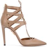 Aquazzura 'Belgravia' lace up pumps - women - Leather - 38