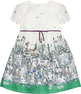 Gucci Flower hem silk dress 6-36 months