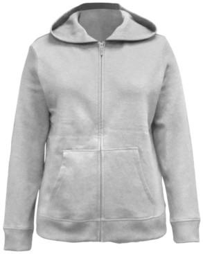 Karen Scott Zip-Front Hooded Sweatshirt, Created for Macy's