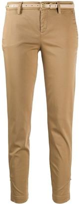 Liu Jo Belted Straight Leg Trousers