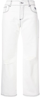MSGM Ripped Jeans
