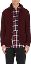 Barena Venezia Men's Cotton English Rib-Knit Cardigan
